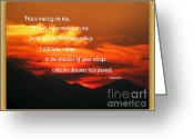 Frizzell Greeting Cards - Waldo Canyon Fire Refuge Greeting Card by Michelle Frizzell-Thompson