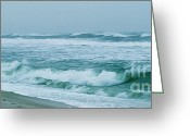 Ronnie Glover Greeting Cards - Walking through Stormy Times Greeting Card by Ronnie Glover