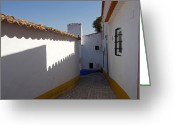 Passageways Greeting Cards - Walled City of Obidos Greeting Card by Susan E Degginger