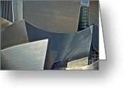 Philharmonic Greeting Cards - Walt Disney Concert Center Greeting Card by Gwyn Newcombe