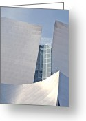Philharmonic Greeting Cards - Walt Disney Music Hall Detail Greeting Card by Loud Waterfall Photography Chelsea Sullens
