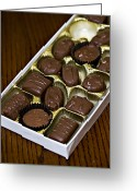 Nut Chocolate Greeting Cards - Want One Greeting Card by Malania Hammer