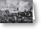 General Jackson Greeting Cards - War Of 1812, Battle Of New Orleans Greeting Card by Photo Researchers