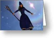 Husband Digital Art Greeting Cards - Warlock Greeting Card by Corey Ford