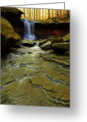 Family Love Greeting Cards - Warm Sky Cool Water Greeting Card by Robert Harmon