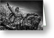 Russian Civil War Greeting Cards - Washington DC Memorial Detail No 18 Greeting Card by Val Black Russian Tourchin