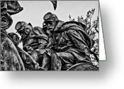 Russian Civil War Greeting Cards - Washington DC Monument Detail No 5 Greeting Card by Val Black Russian Tourchin