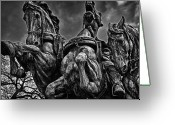 Russian Civil War Greeting Cards - Washington DC Monument Detail No 9 Greeting Card by Val Black Russian Tourchin