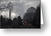 Alexander Calder Greeting Cards - Washington landmarks Greeting Card by Robert Ulmer