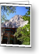 Merced County Greeting Cards - Watching Over Ahwanee...Yosemite Greeting Card by Glenn McCarthy Art and Photography