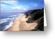 Beach Framed Prints Greeting Cards - Water Color Sky Greeting Card by Kathy Yates