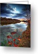 Mohawk Greeting Cards - Water Colors Greeting Card by Neil Shapiro