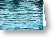 Flow Greeting Cards - Water Flow Greeting Card by Steve Gadomski