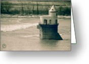 Mississippi County Greeting Cards - Water Intake 2 Greeting Card by Helena M Langley