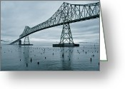 Topaz Greeting Cards - Water under the bridge Greeting Card by Dan Mihai