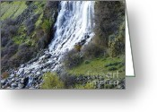 Waterfall Greeting Cards - Waterfall Greeting Card by Photography Moments - Sandi
