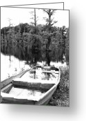 Louisiana Greeting Cards - Waterlogged Greeting Card by Scott Pellegrin