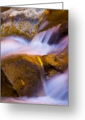 National Greeting Cards - Waters of Zion Greeting Card by Adam Romanowicz