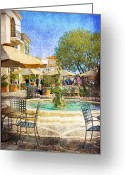 Socal Greeting Cards - Waterside Greeting Card by Chuck Staley