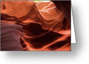 Tumbleweed Greeting Cards - Waves of Color Greeting Card by Paul Cannon