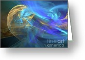 Christian Chapman Greeting Cards - Waves Of Grace Greeting Card by Margie Chapman