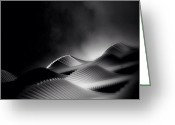 Featured Greeting Cards - Waves Of Steel - Concrete Jungle Greeting Card by Robbert Ter Weijden