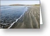 Pacific Coast States Greeting Cards - Waves Washing Up On Doran Beach Greeting Card by Rich Reid