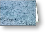 Queensland Photo Greeting Cards - Waves Greeting Card by Yuki Crawford
