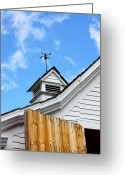 Weather Vane Greeting Cards - Weather Vane Greeting Card by William Dey