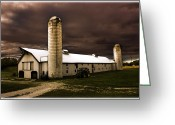Storm Prints Greeting Cards - Weather Watch Greeting Card by Barry Jones