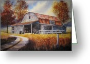 Noth Greeting Cards - Weathered Warmth Greeting Card by Shirley Braithwaite Hunt