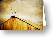 Weathervane Greeting Cards - Weathervane Greeting Card by Joan McCool