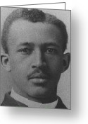 Civil Rights Greeting Cards - W.e.b. Du Bois, Civil Rights Activist Greeting Card by Photo Researchers