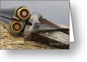 Birmingham Greeting Cards - Webley and Scott - D002721 Greeting Card by Daniel Dempster