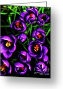 Impassioned Greeting Cards - Weeds Cut Greeting Card by Dean Edwards