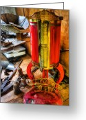 Espresso Art Greeting Cards - Weigh Your Goods - General Store - vintage - nostalgia Greeting Card by Lee Dos Santos