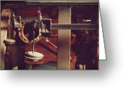 Red Photographs Greeting Cards - Weights and Measures Greeting Card by Steven Milner