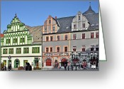 Weimar Greeting Cards - Weimar Germany - A town of timeless appeal Greeting Card by Christine Till