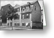 Weimar Greeting Cards - Weimar: Shillers House Greeting Card by Granger
