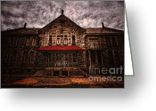 Dilapidated Greeting Cards - Welcome Greeting Card by Andrew Paranavitana