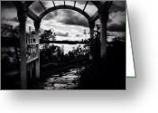 Blackandwhite Greeting Cards - Welcome Greeting Card by Natasha Marco