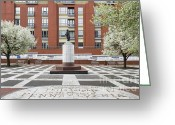 Independence Park Greeting Cards - Welcome Park Philadelphia Greeting Card by John Greim