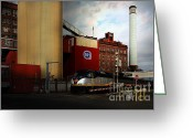Factories Greeting Cards - Welcome To Crockett California Blue Collar USA . 7D8856 Greeting Card by Wingsdomain Art and Photography
