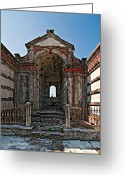 Cemetery Gate Greeting Cards - Welcome to Eternity Greeting Card by Steve Harrington