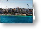 Christopher Holmes Greeting Cards - Welcome to NAssau Greeting Card by Christopher Holmes