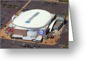 South Philadelphia Photo Greeting Cards - Wells Fargo Center 3601 South Broad St Philadelphia PA 19148 Greeting Card by Duncan Pearson