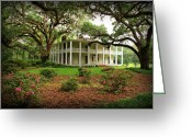 Sandy Keeton Greeting Cards - Wesley House Greeting Card by Sandy Keeton