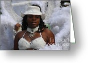 West Indian Greeting Cards - West Indian Parade Brooklyn NY Greeting Card by Mark Gilman