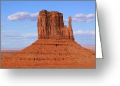 John Wayne Greeting Cards - West Mitten Greeting Card by Viktor Savchenko