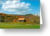 Shed Greeting Cards - West Virginia Homestead Greeting Card by Steve Harrington